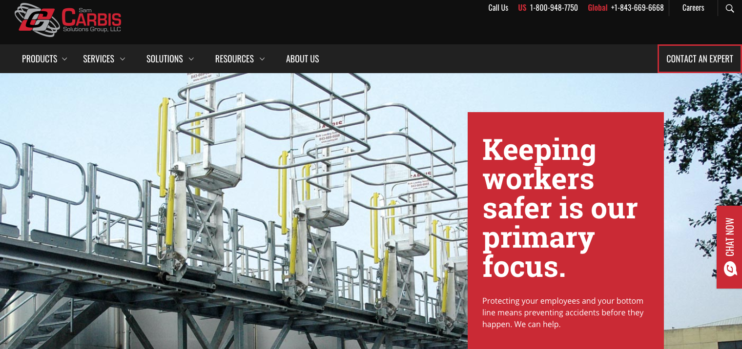 Carbis Solutions Launches New Safety-First Website
