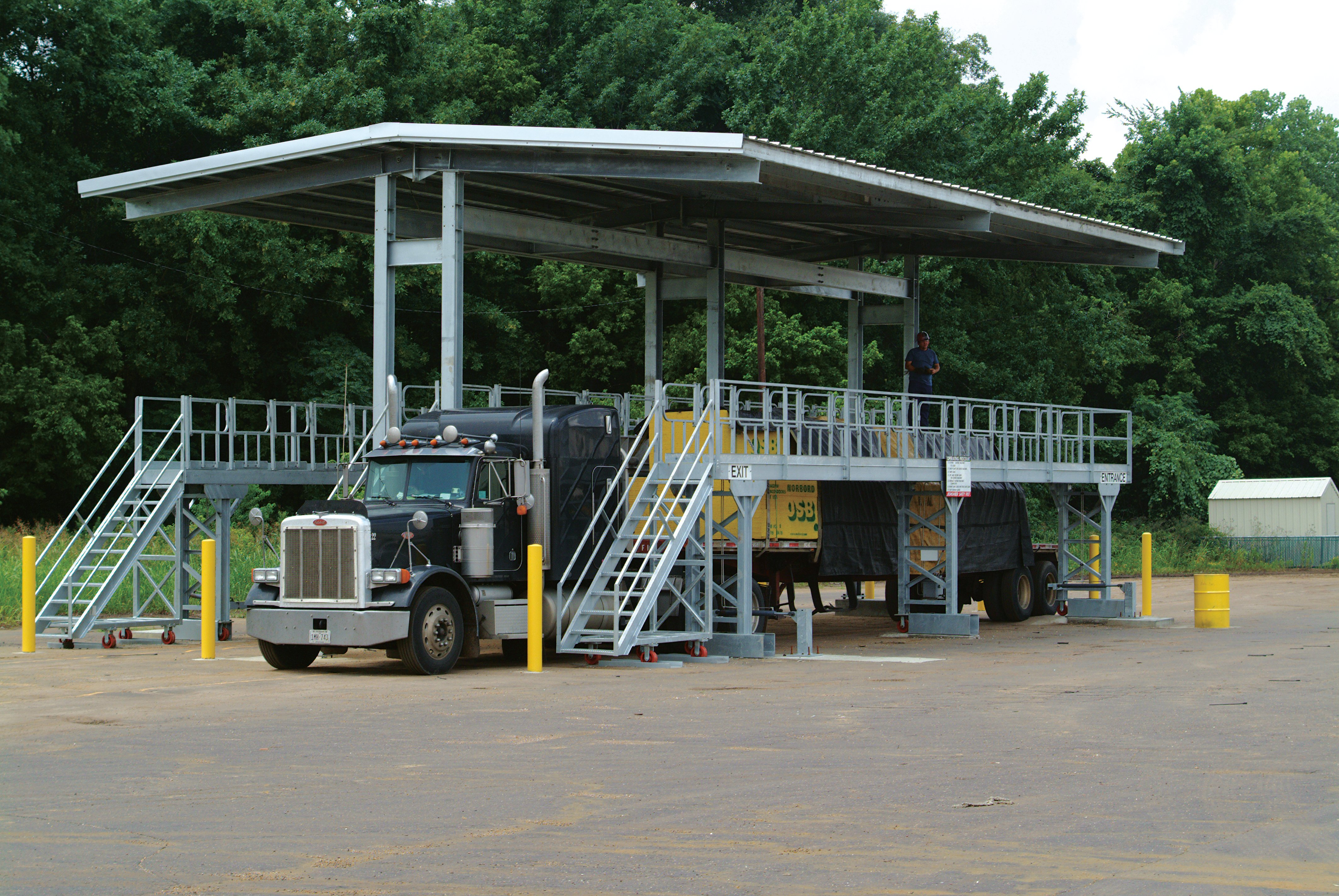 Improving Employee Safety With Flatbed Fall Protection
